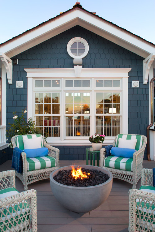 Beach Inspired Outdoor in Coastal Living Magazine Showhouse 2014