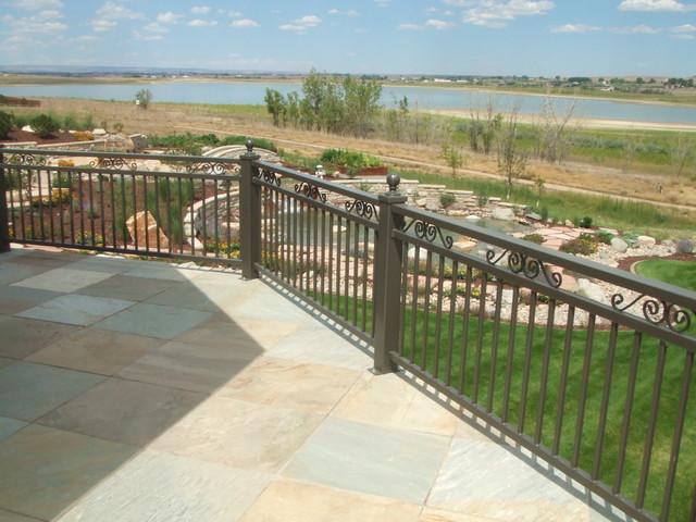Cobb lake project rustic-deck
