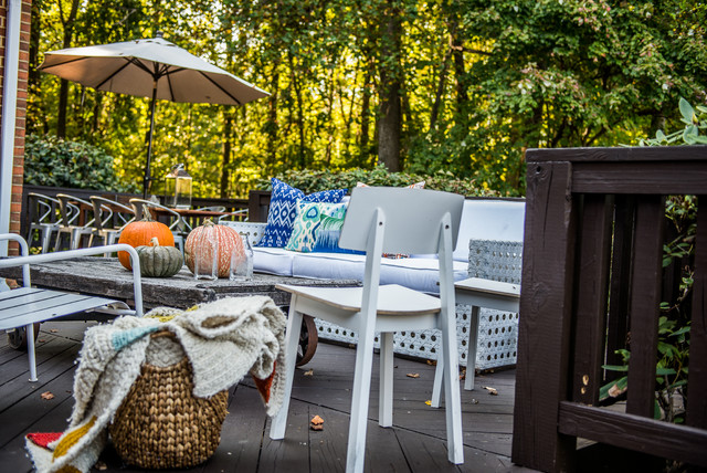 Colonial Home Revamp Phoenix MD Transitional Deck