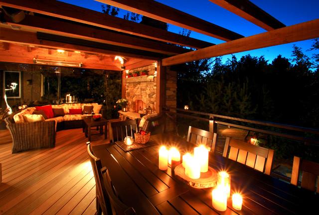 Colorado Outdoor Living Room Rustic Deck Part 57