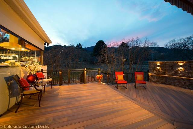 Colorado Springs Deck - Contemporary - Deck - denver - by Mosaic ...
