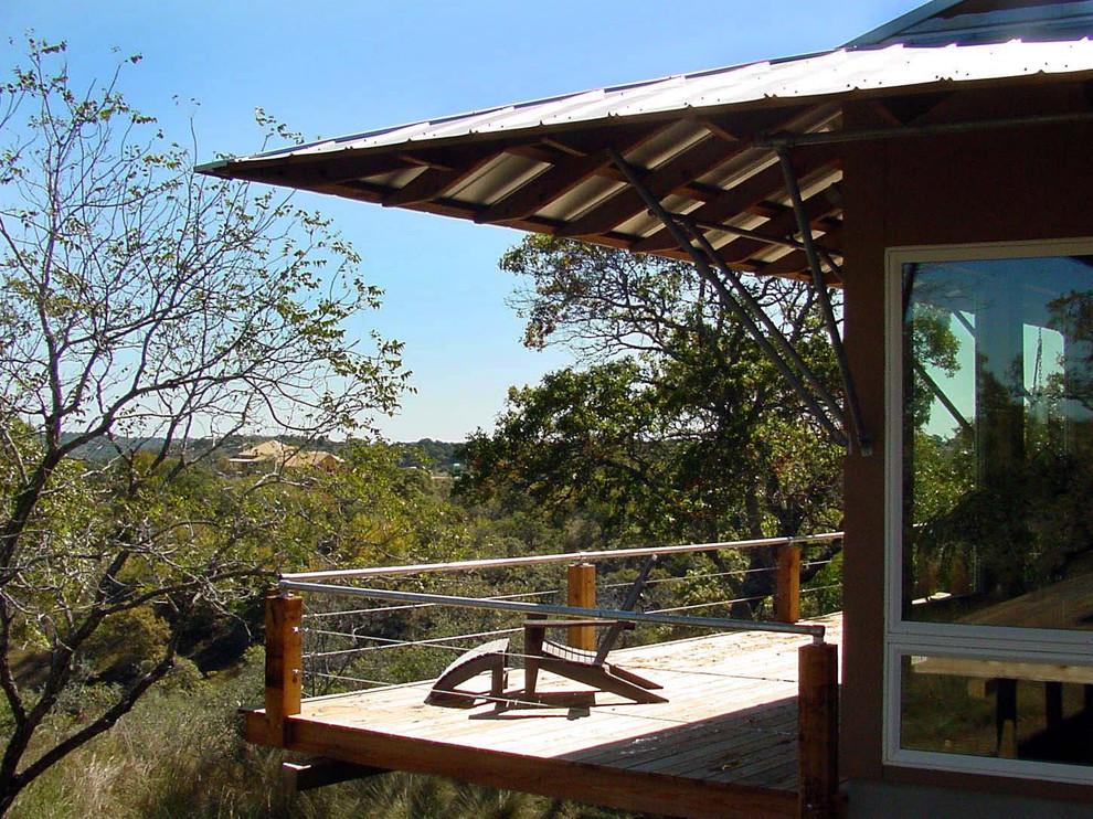 Deck - modern deck idea in Austin