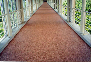 Commercial Complex Walkway by Rubaroc Rubber Safety Surfacing - Traditional - Outdoor Products ...