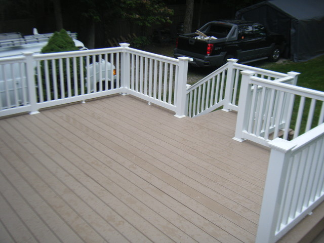 Composite decking traditional-deck