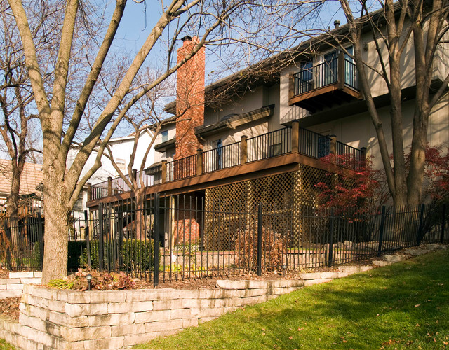 Composite Decks Kansas City - Azek traditional-deck