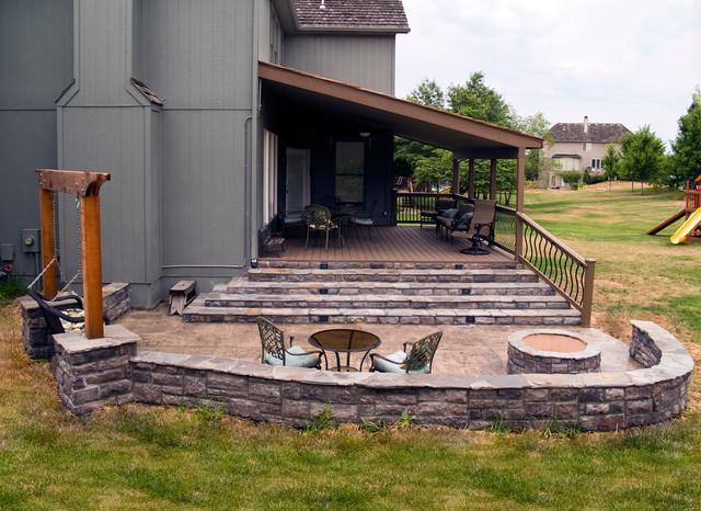 Composite Decks Kansas City Evergrain Deck Kansas