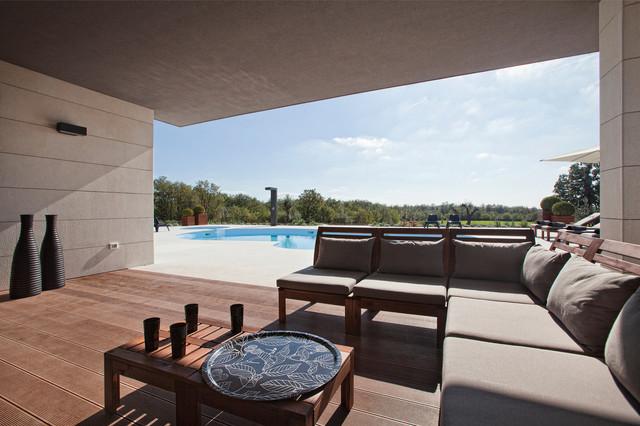 Villa Barbara contemporary-deck