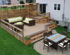 Patio Deck-Art Design® contemporary-deck
