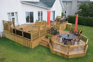 Outdoor Living Trex Contemporary Deck Montreal By