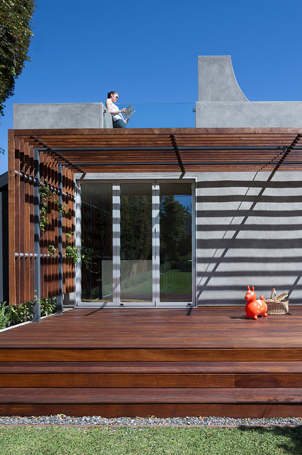 Highland House Remodel contemporary-deck
