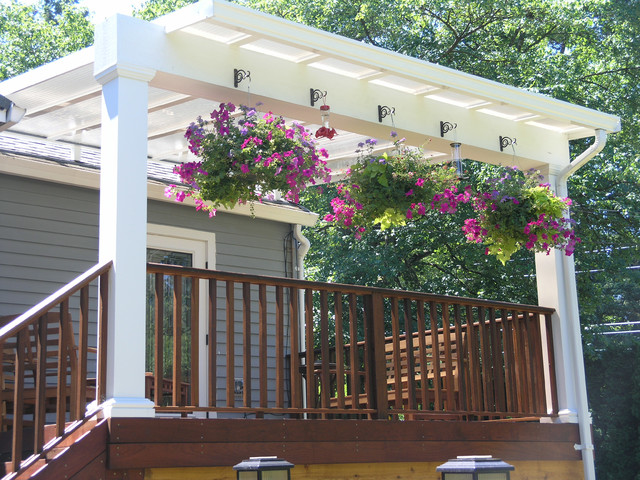Conventional Roof Style Traditional Deck