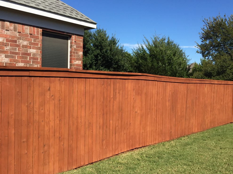 Corey S Fence Contemporary Deck Dallas By Fresh Coat Painters Of Flower Mound