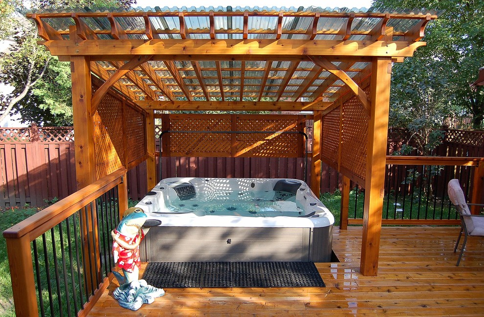 Example of a classic deck design in Ottawa