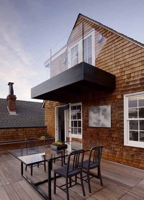 Cow Hollow Residence transitional-deck