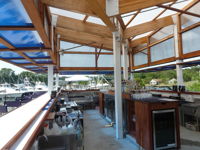 Cowfish Restaurant Hampton Bays Ny Contemporary Terrace