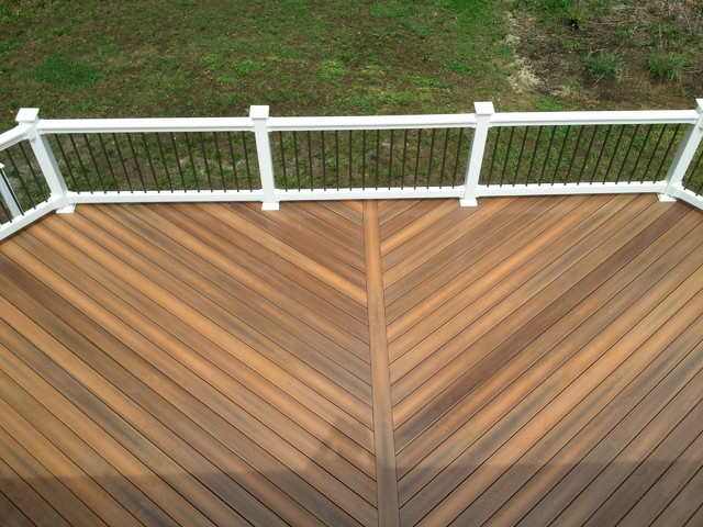 Custom Decks Contemporary Deck Baltimore By