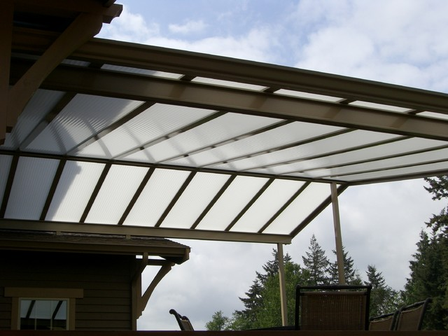 Bon Custom Gable Patio Cover On Craftsman Style Home Craftsman Deck