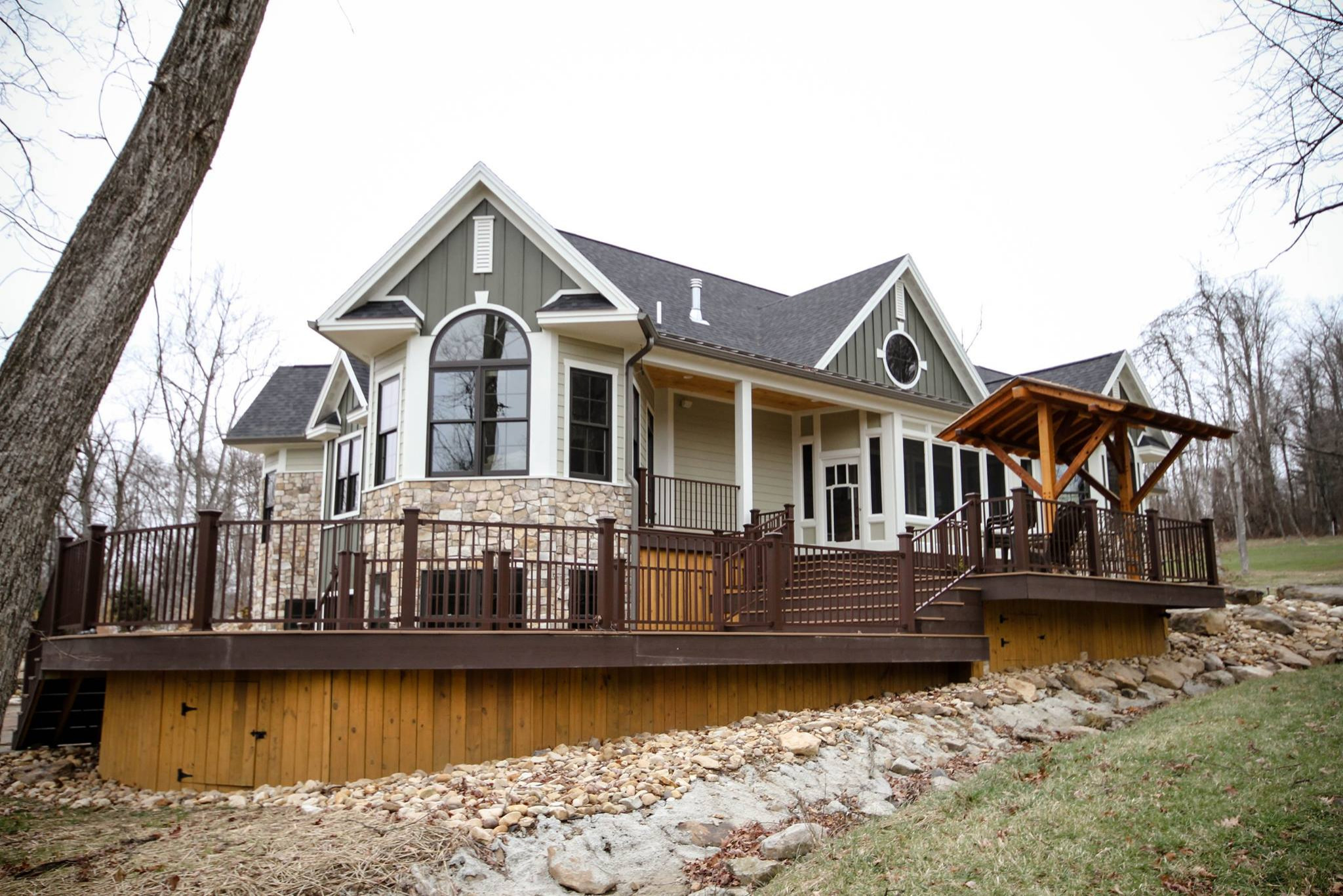 Custom Home: New Construction and Outdoor Living