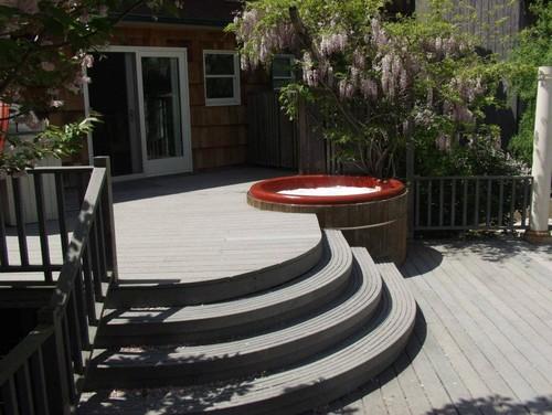 backyard spa design