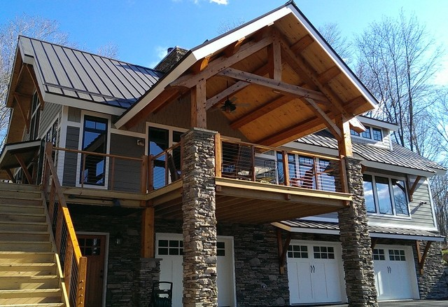 Custom Timberbuilt Lake House