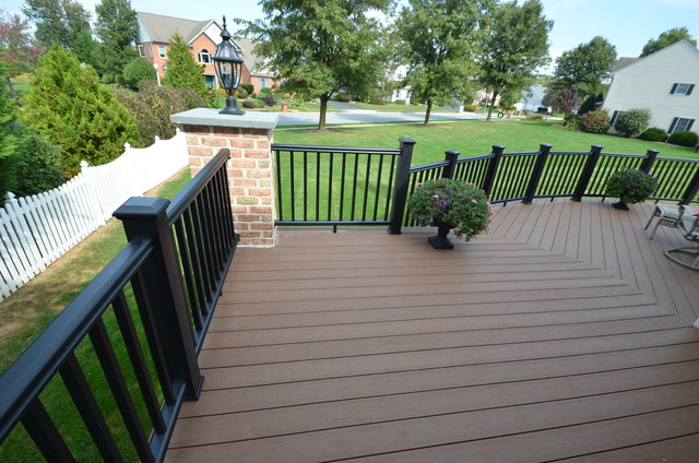 Custom Timbertech Deck Traditional Deck Philadelphia