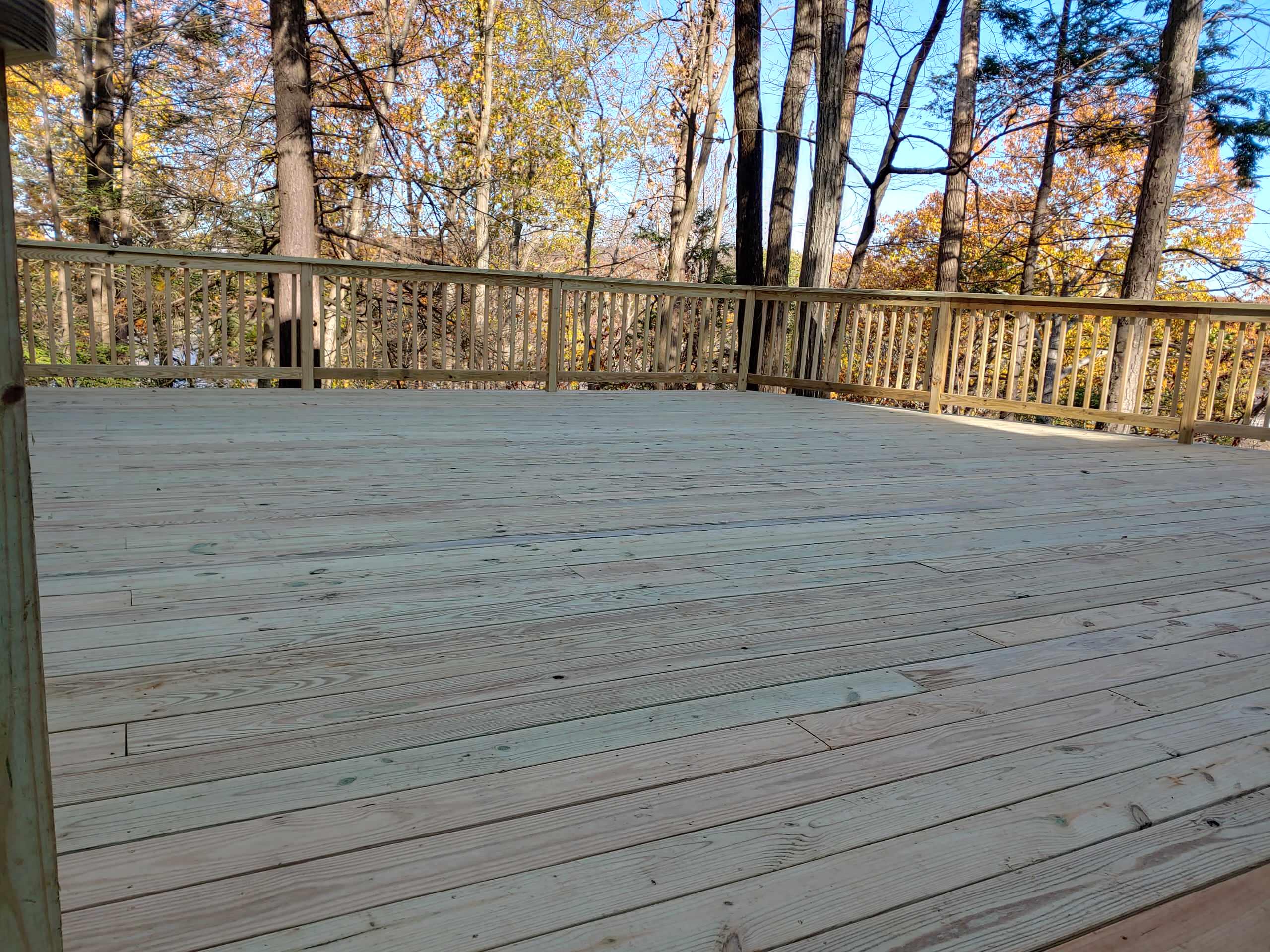 Danbury Deck Build