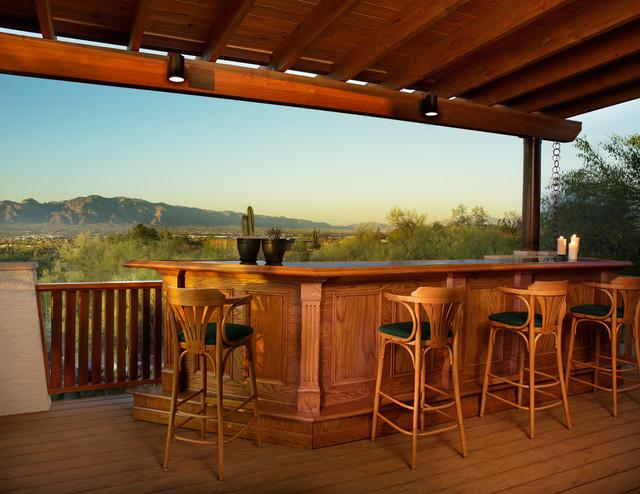 Deck addition contemporary-deck