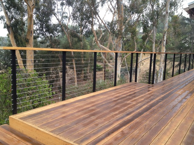 Deck Cable Railing Modern Deck Other By San Diego