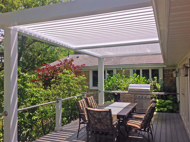 Deck Covers By Adjustable Patio Covers Contemporary Deck
