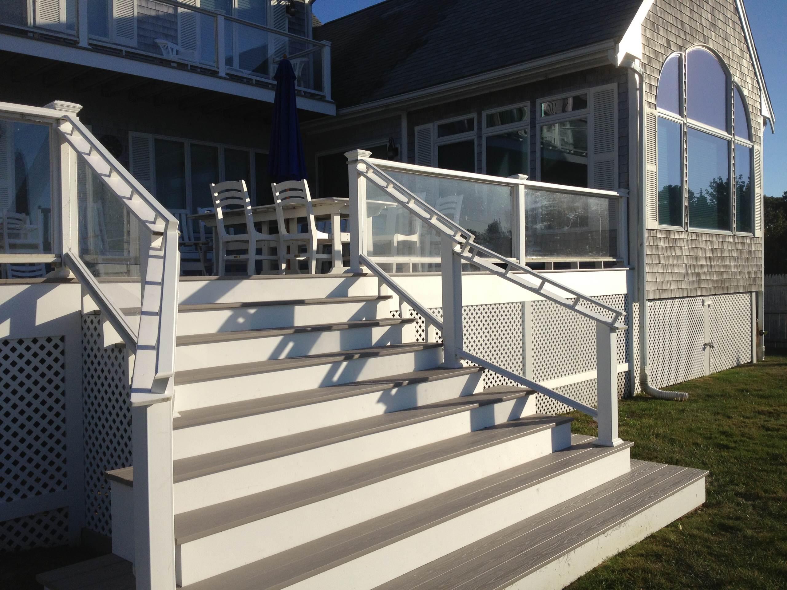 Deck in Bourne