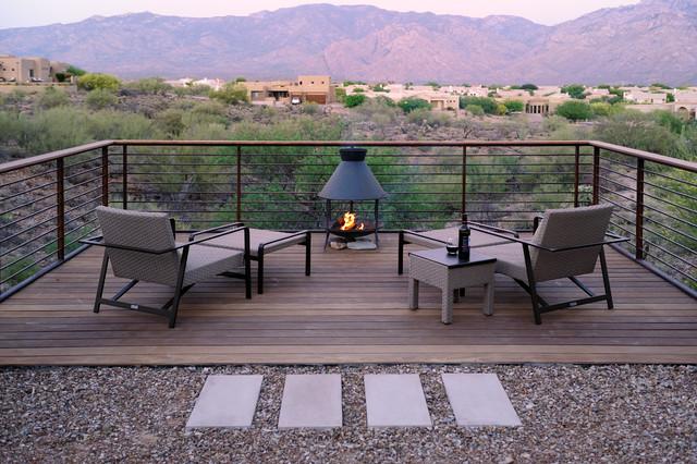 Deck Over The Desert Contemporary Phoenix By Prideaux Design