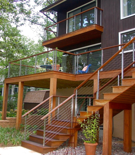 Decks contemporary-porch