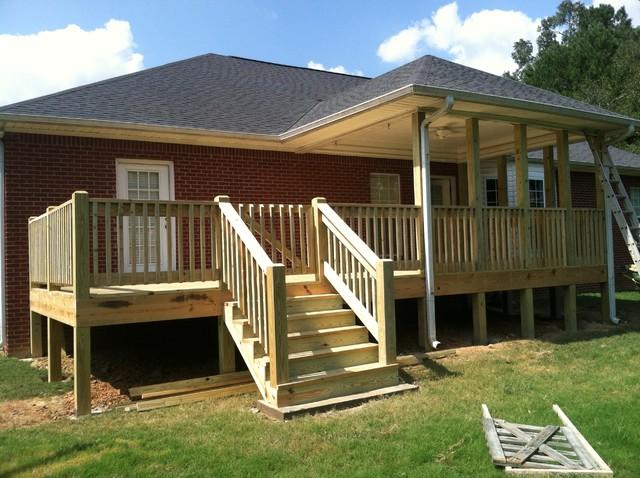 Deck rebuild traditional-deck
