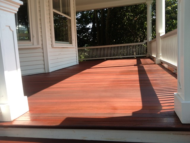 Deck Refinishing Projects Traditional Newark