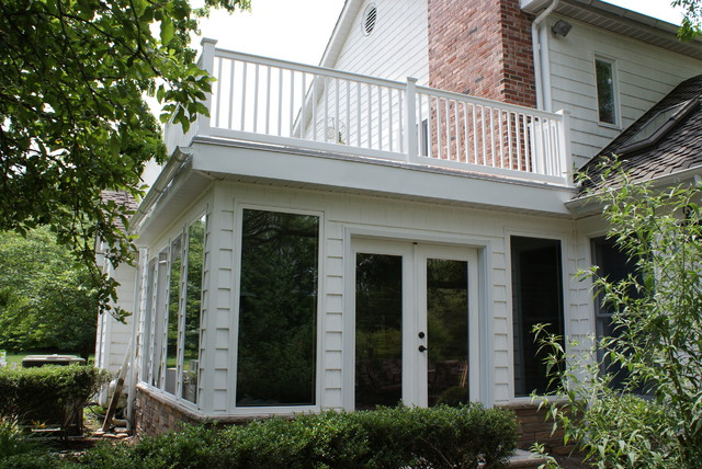 Deck Top Sunroom Traditional