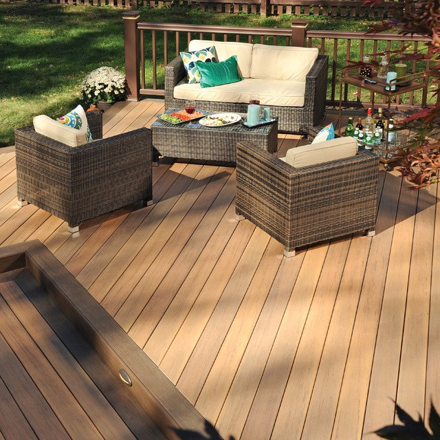 Deck Stain Ideas Two Tone Free Attractive Deck Stain Ideas Two