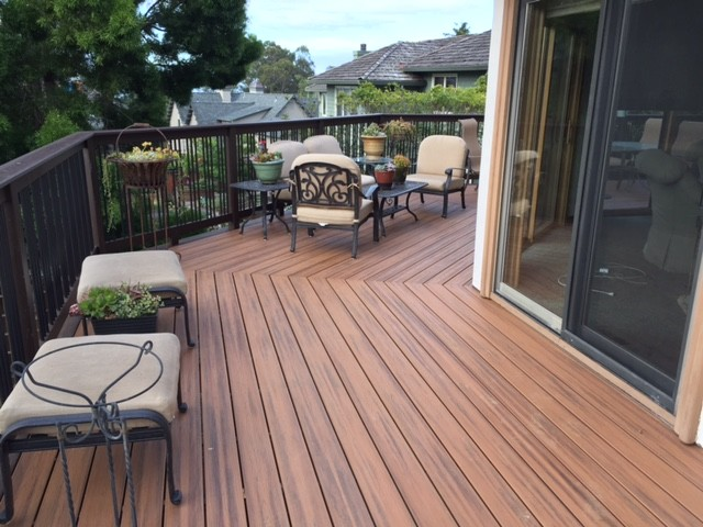 Decks balconys american traditional terrace other for 126 the terrace wellington