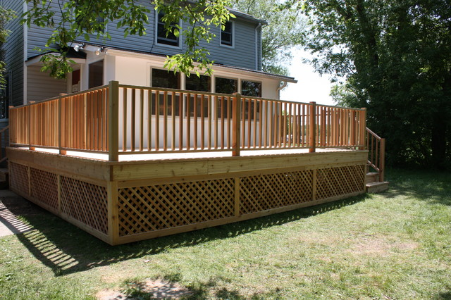 Decks And Exterior Structures Deck Ottawa By Harding Carpentry Inc