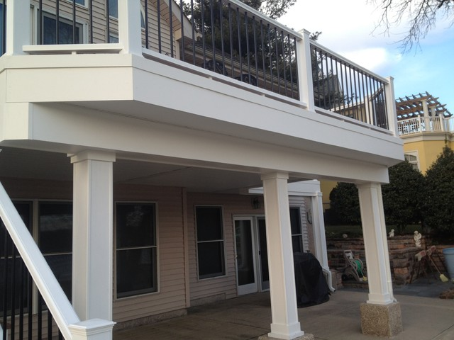 Decks and Outdoor spaces traditional-exterior