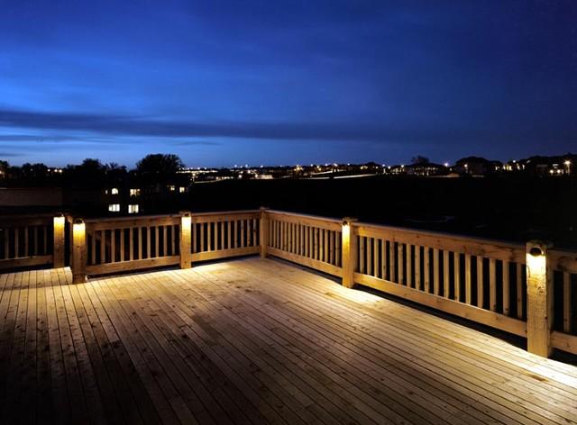Decks Patios Modern Deck Omaha By Mckay Landscape