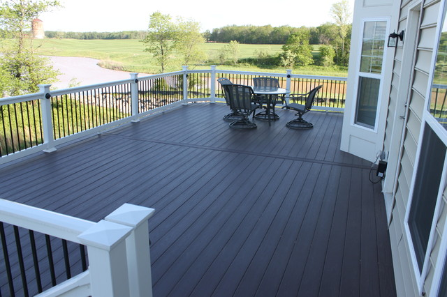 Decks by Blue Moon Construction contemporary-deck