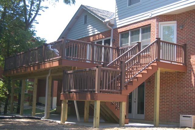 Example of a deck design in Cincinnati