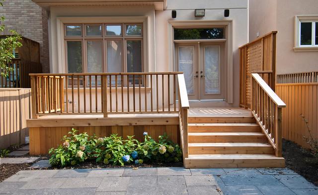 Decks, Gates and Screens traditional-deck