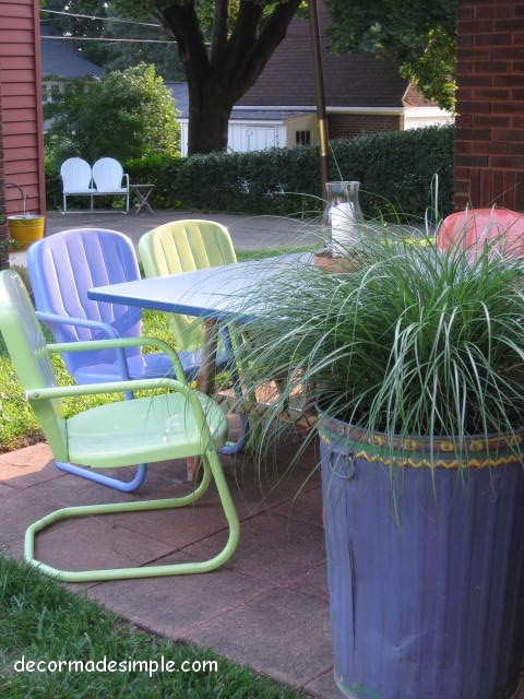 Decor Made Simple eclectic-deck