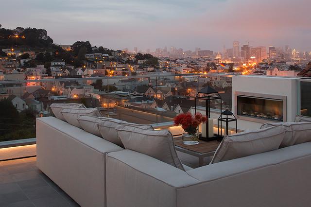 Dijk residence/ San Francisco contemporary-deck