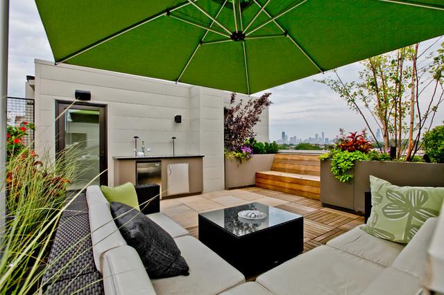Diversey Color bound - Contemporary - Deck - chicago - by ...