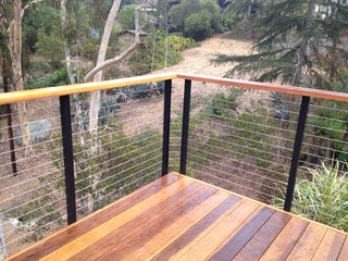 Diy Cable Railing Contemporary Deck San Diego By