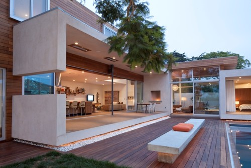 DuChateau Floors - Terra Collection in Zimbabwe / Horwitz Residence by Minarc modern exterior