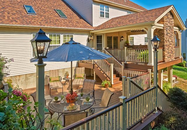 Eagleville pa traditional deck philadelphia by for Eagleville pool and spa