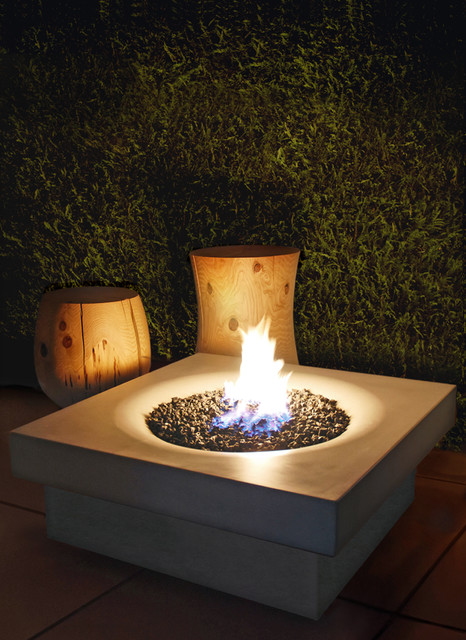 Elevated Halo Firepit deck